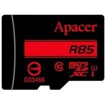 Карта памяти Apacer 64 GB microSDXC/SDHC UHS-I U1 Class 10 (R85 MB/s) + SD adapter (AP128GMCSX10U5-R)-bakida-almaq-qiymet-baku-kupit