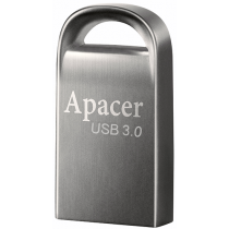 Flesh yaddaş USB Apacer 16 GB USB 3.1 Gen1 AH156 / Ashy (AP16GAH156A-1)