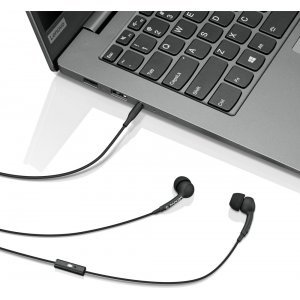 Наушники Lenovo 100 In-Ear Headphone Black (GXD0S50936)