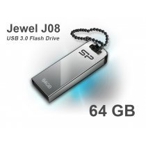 USB флешка Silicon Power UFD 3.0, Jewel J10, 64 GB, Black (SP064GBUF3J10V1K)-bakida-almaq-qiymet-baku-kupit