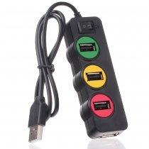 Punada P-1030 USBHUB светофор 4-порт USB2.0-bakida-almaq-qiymet-baku-kupit
