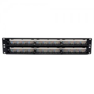 Патч панель Tripp Lite 48-Port Cat5e Patch Panel 568B, 2U (N052-048)