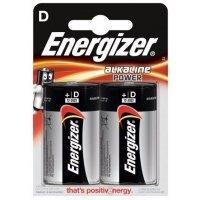 Батарейки Energizer battery Alkaline D(2) LR20