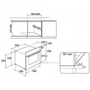 Духовой шкаф Hotpoint-Ariston FA3 540 H IX HA (Silver)