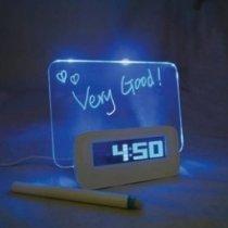 Будильник с LED доской-bakida-almaq-qiymet-baku-kupit