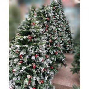 Снежная Ёлка с рябиной и шишками Christree+ rowan + cones (1.80 metr)