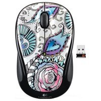 Wireless Mouse  Foray Black Graffiti Collection (M325)