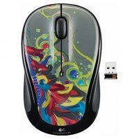 Wireless Mouse Tropical Feathers Graffiti Collection (M325)