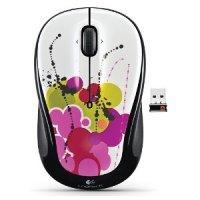 Беспроводная мышь Logitech White Ink Trail Graffiti Collection (M325)