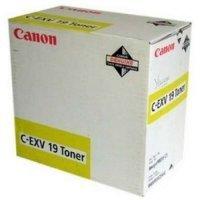 купить Картридж Canon TONER C-EXV19 YELLOW EUR (0400B002)