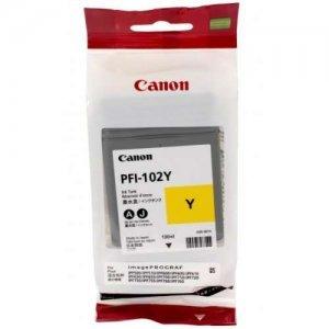 Картридж CANON CARTRIDGE PFI-102Y YELLOW INK (0898B001)