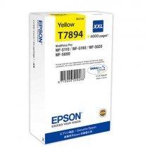 купить Картридж Epson WF-5xxx Series Ink Cartridge XXL Yellow (C13T789440)-bakida-almaq-qiymet-baku-kupit