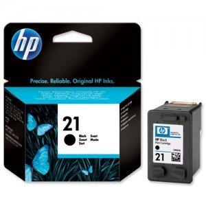 Струйный картридж HP № 21 C9351AE (черный)