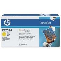 Тонер-картридж HP CE252a (желтый) (504A)