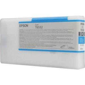 Картридж Epson T6532 C13T653200 (cyan)