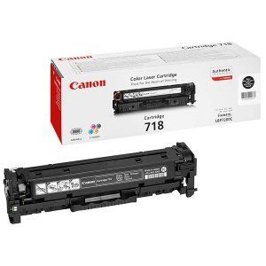 Картридж Canon 718 (2662B002) black