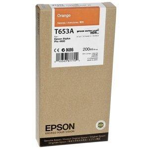 Картридж Epson T653A C13T653A00 (orange)