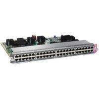 Модуль Cisco WS-X4648-RJ45V-E