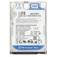 Внутренний HDD WD 2.5'' 1TB 5400 prm 8MB SATA 2