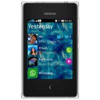 Мобильный телефон Nokia Asha 502 Dual Sim white
