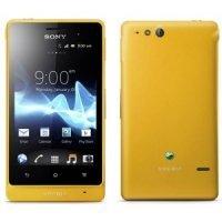 Смартфон Sony Xperia Go ST27 Yellow
