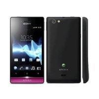 Смартфон Sony Miro ST23 (Black Pink)