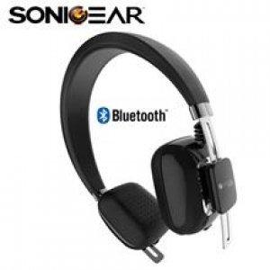 Наушники SoniGear BT Headphone AirPhone 300L Jet Black