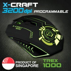 SoniGear Wireless Gaming Mouse X-Craft Air 2000 Twilight